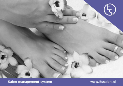 Pedicure software, manicure software, nagelsalon software