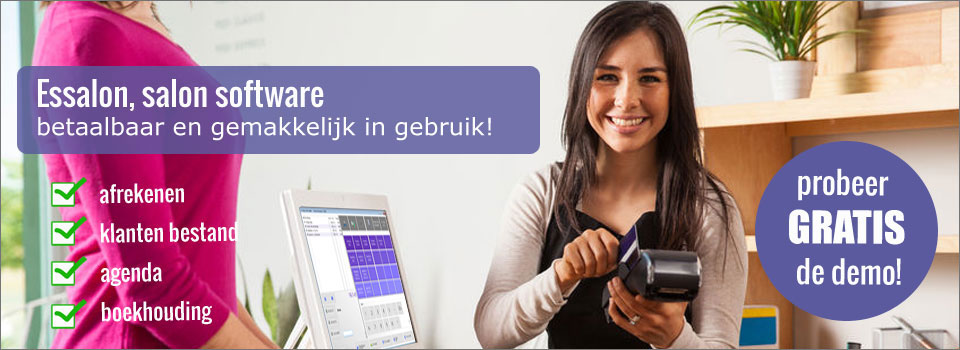 salon software, kapsalon software, schoonheidssalon software, pedicure software, manicure software, schoonheidssalon programma, kapsalon programma