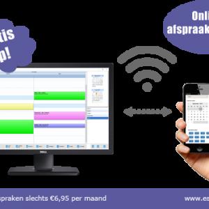 online afsprakensysteem, online afspraken software, online boekingen software, online boekingen programma