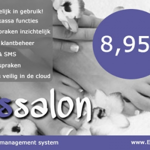 Pedicure software, manicure software, nagelstudio software, pedicure kassa, manicure kassa, salon software