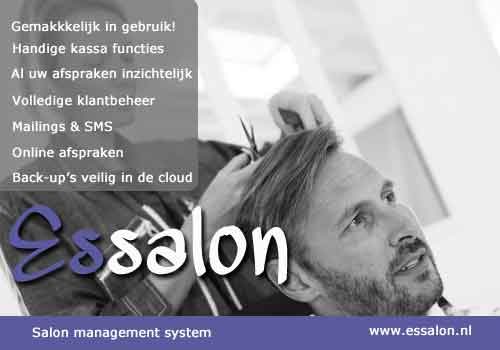 Kapsalon software, salon software, kapperssoftware